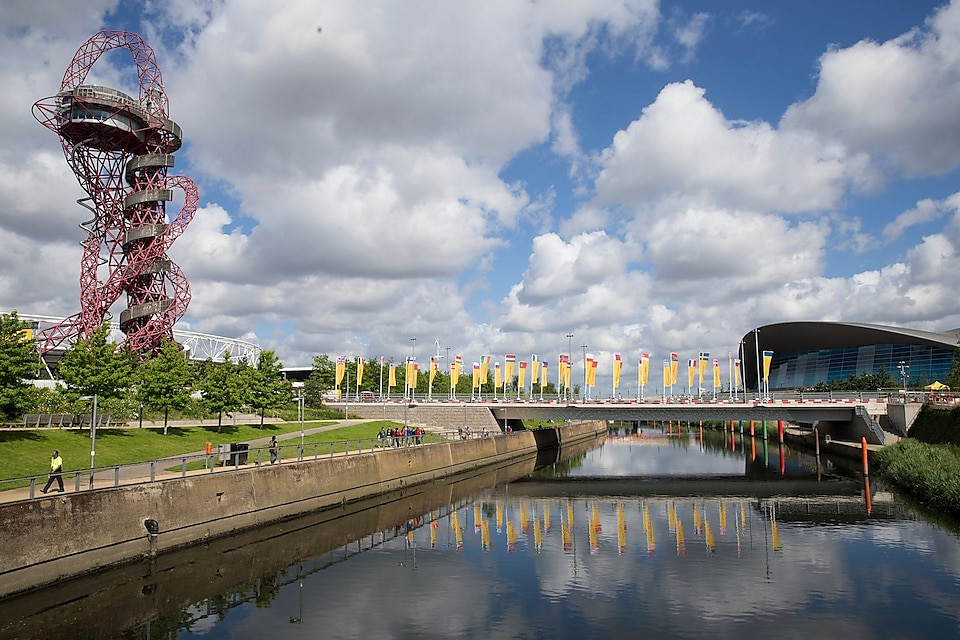 A view of the venue during Make the Future London 2016