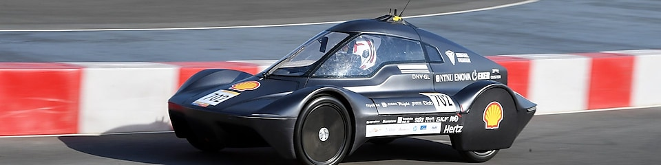 beste bildesign i Shell Eco-marathon